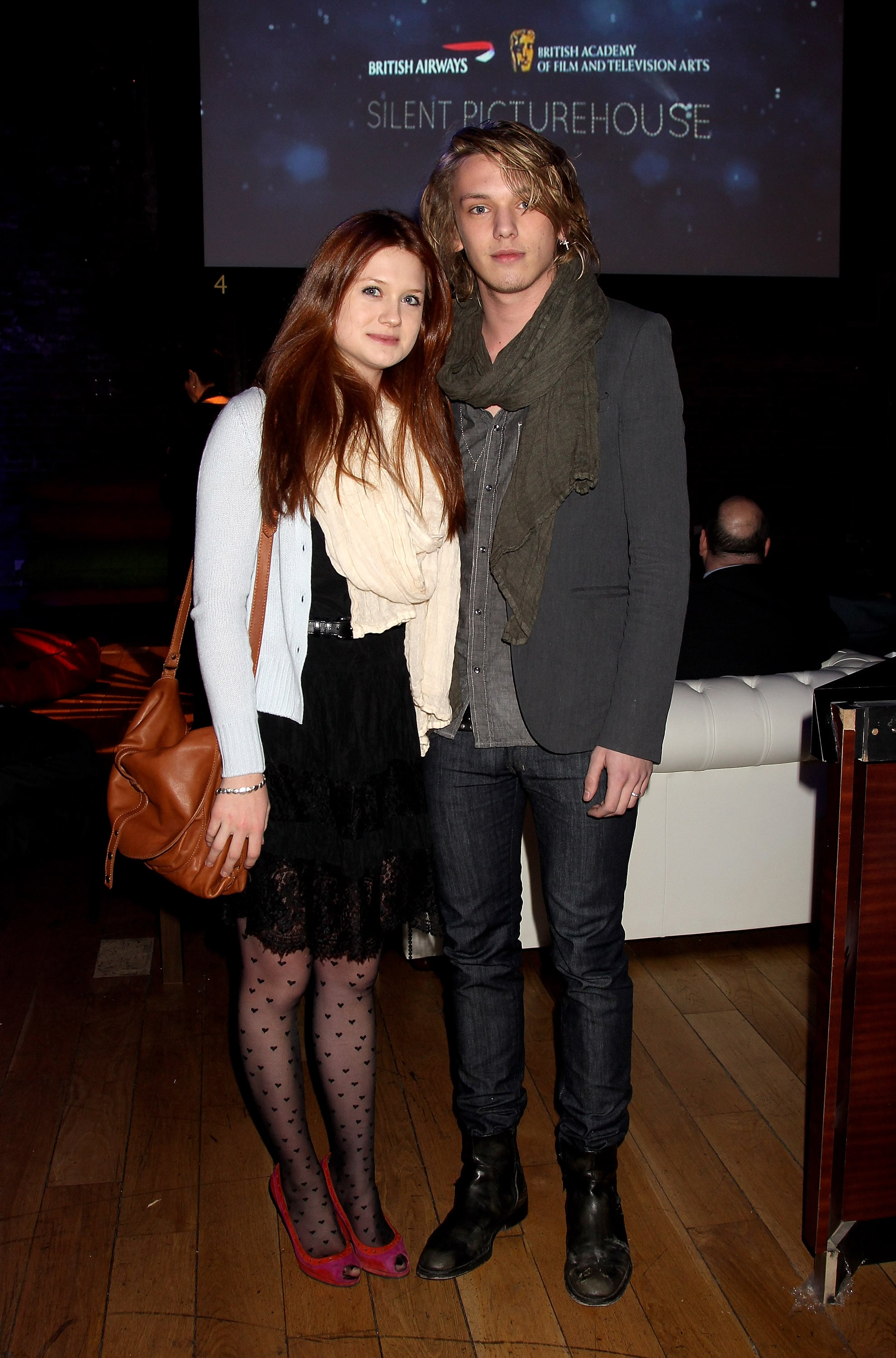 Photos of Bonnie Wright and Jamie Campbell-Bower At BAFTA ...