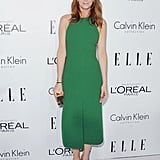 Kristen Wiig posed for photos in LA at the Elle Women in Hollywood Awards.