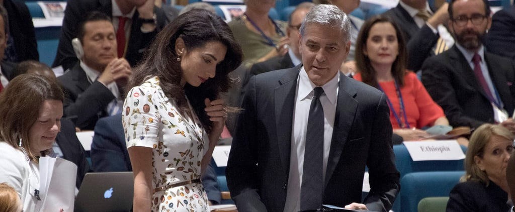 Kate Middleton's Skull-Print Dress Just Resurfaced, Only This Time It's on Amal Clooney