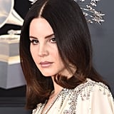 Lana Del Rey Headpiece at 2018 Grammys