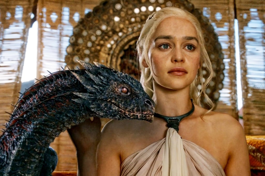 Game of Thrones' Daenerys and Her Dragons GIFs