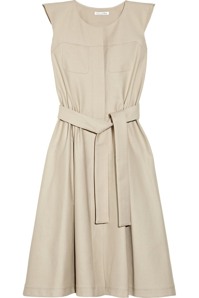 Oscar de la Renta for The Outnet stretch cotton canvas dress ($795)