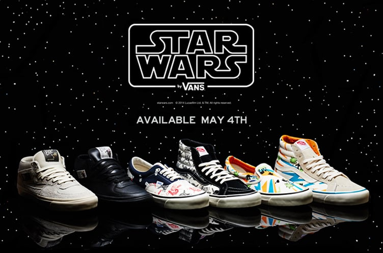 0058f0a4c2 Star Wars Vans Shoes