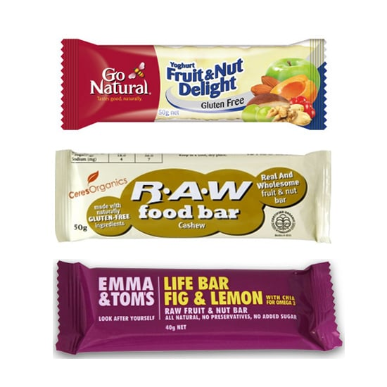 Calories in Health Food Bars & Calories in Muesli Bars