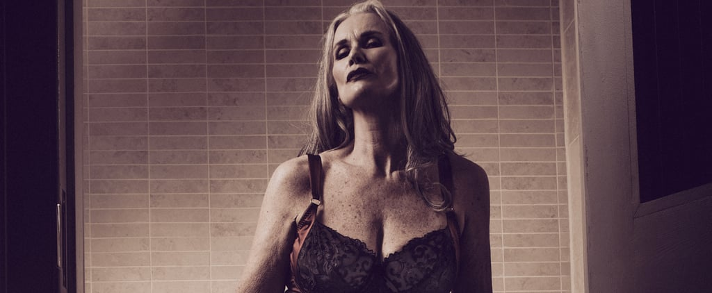 Nicola Griffin Wearing Lingerie in Slink Magazine 2016