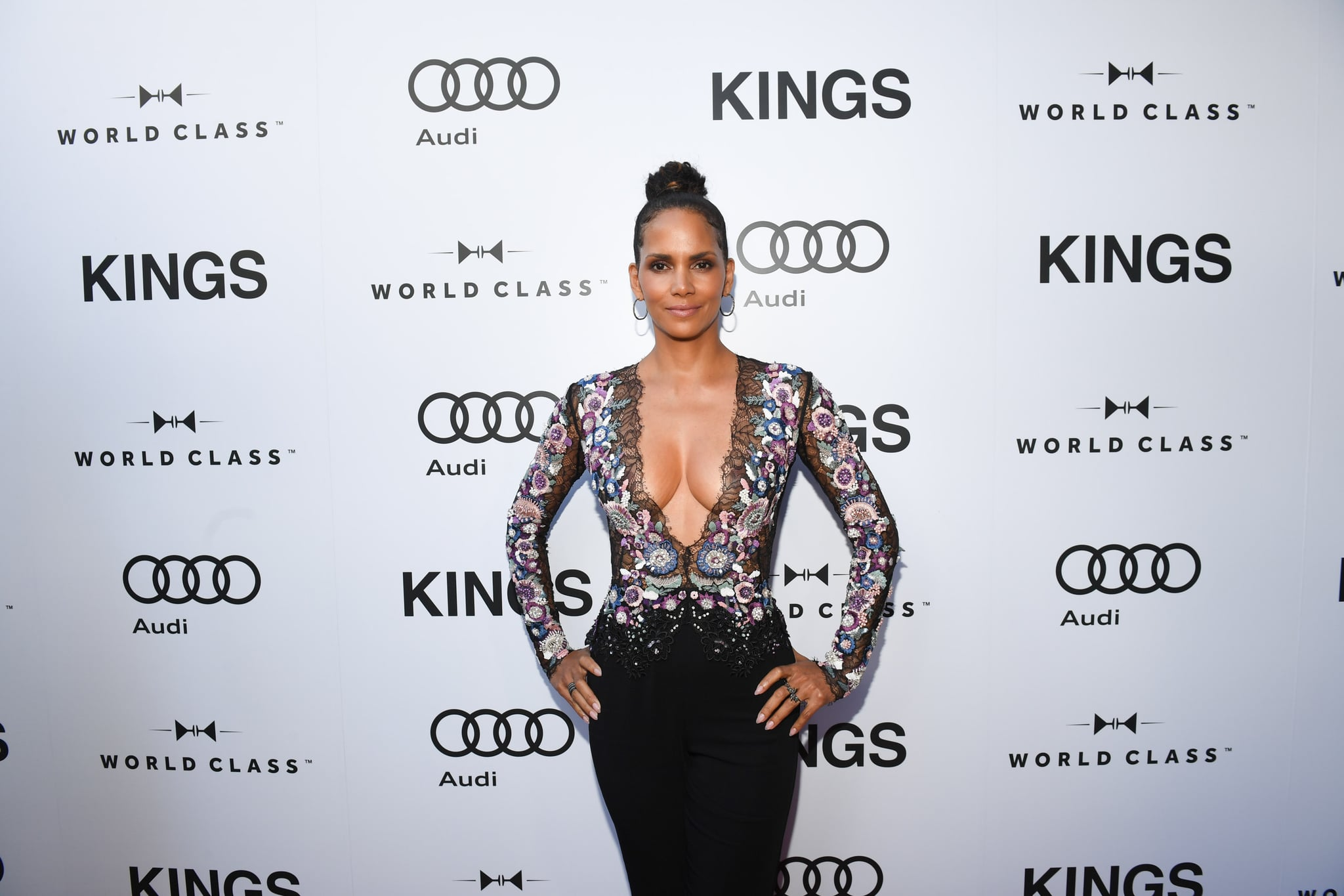 TORONTO, ON - SEPTEMBER 13:  Halle Berry attends the pre-screening event for