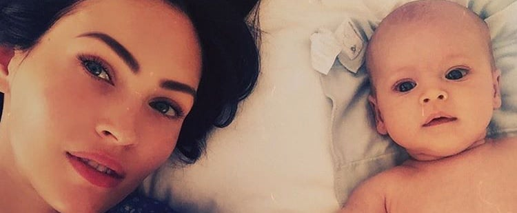The First Photo of Megan Fox and Brian Austin Green's New Baby Is So Freakin' Cute