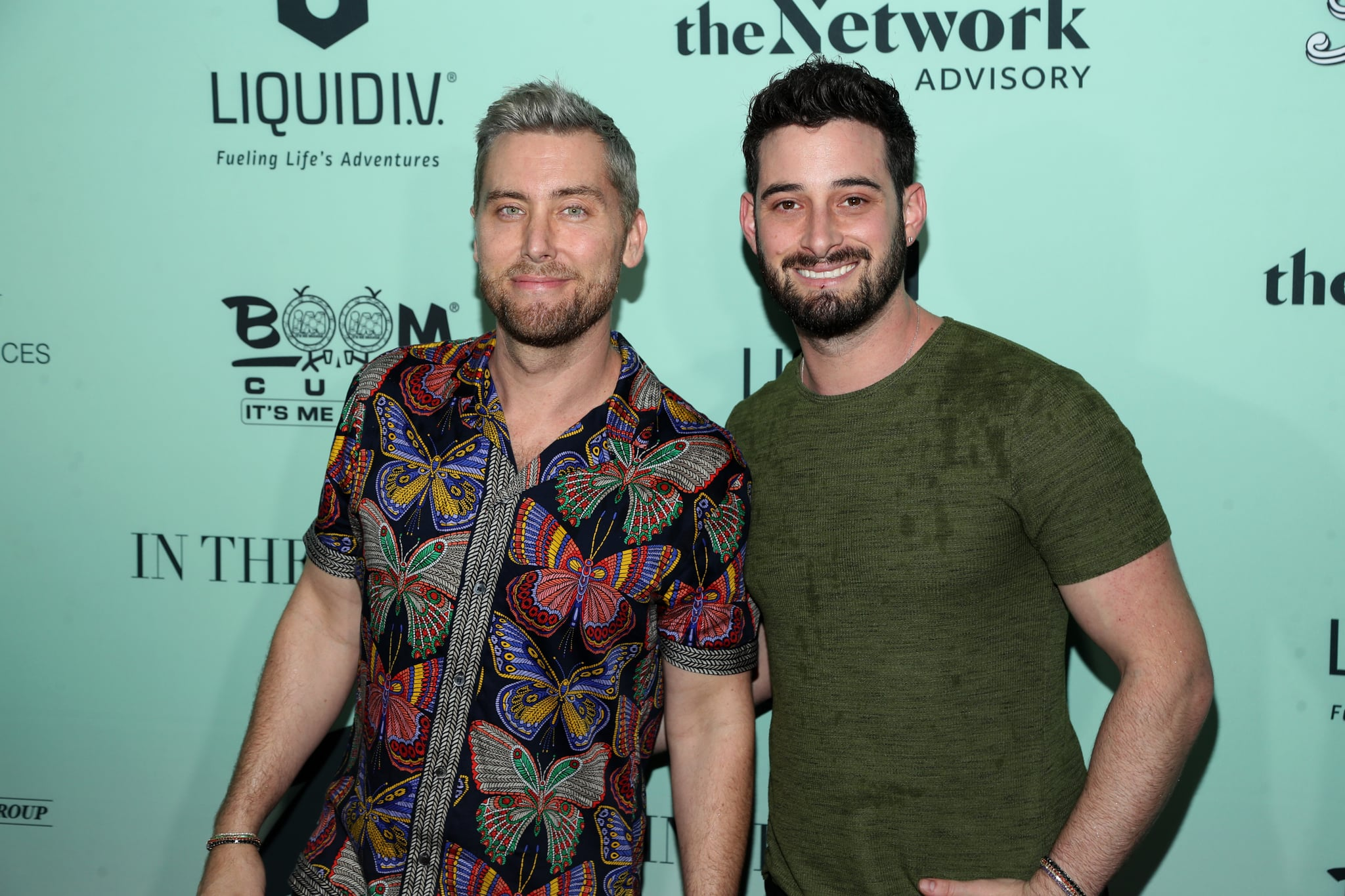 MIAMI, FLORIDA - JANUARY 31: Lance Bass and Michael Turchin attend Bootsy On The Water Miami Takeover 2020 on January 31, 2020 in Miami, Florida. (Photo by Jerritt Clark/Getty Images for In The Know Experiences)