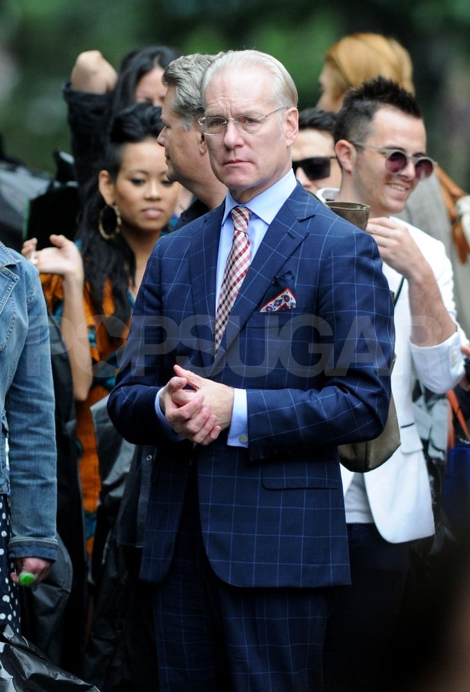 Tim Gunn is back for Project Runway's ninth season.