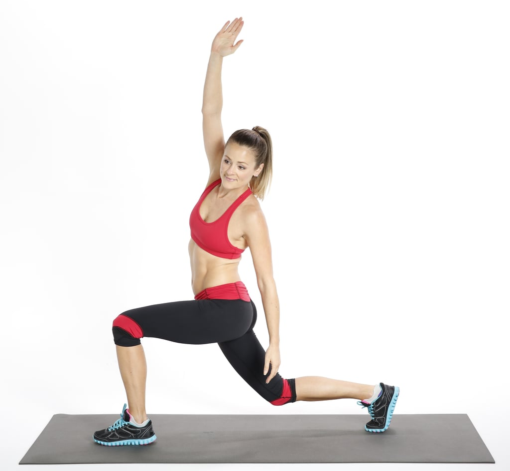 Circuit One: Alternating Backward Lunge With Side Stretch