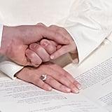 Princess Eugenie's Wedding Nails