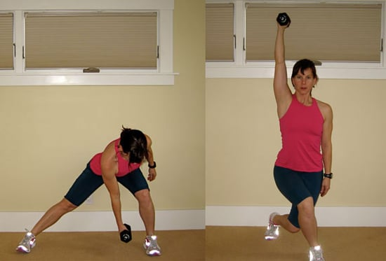 Lunge Combo: Side Lunge to Curtsy