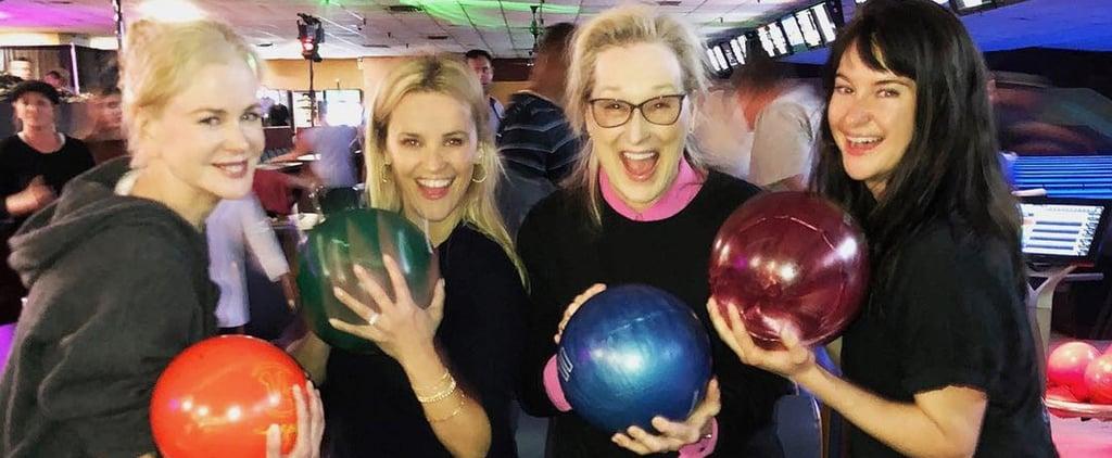 Big Little Lies Cast Bowling Pictures