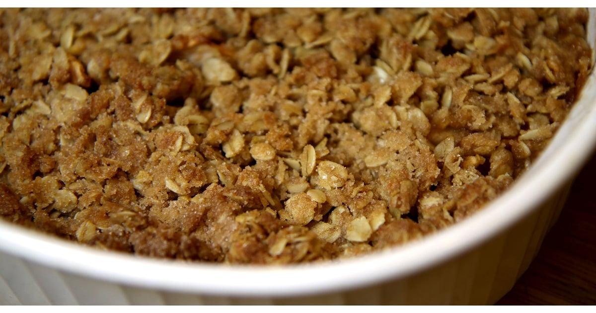 Healthy Recipe: Apple Pear Oatmeal Crisp | POPSUGAR Fitness