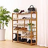 Mllieroo Bamboo Shoe Rack