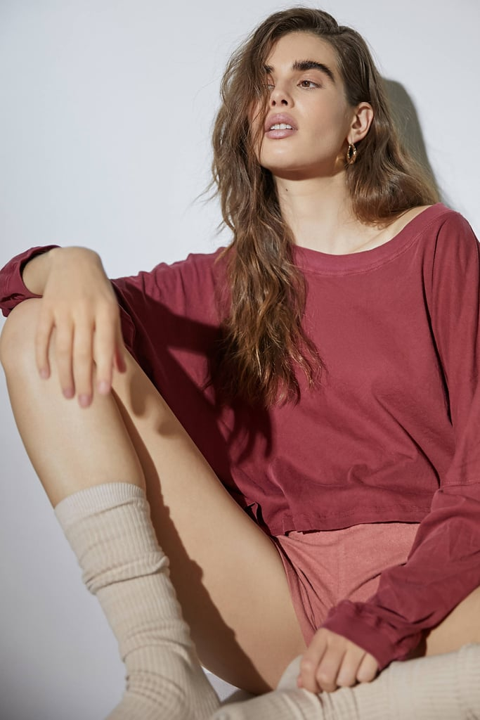 Out From Under Ella Long Sleeve Slouchy Tee