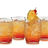 Double Old-Fashioned Tiki Glasses