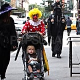 Liev Schreiber and Naomi Watts dressed up with their kids on Halloween.