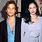 Before dating Sandra, Matthew had a brief romantic fling with Ashley Judd, who was also in A Time to Kill.