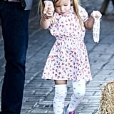 Ben Affleck and Seraphina Match Up For a Morning Run