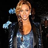 Beyoncé's Side Braid in 2011