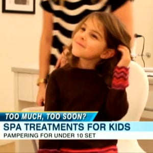 Little Girls Are Getting Bikini Waxes and Other Salon Services