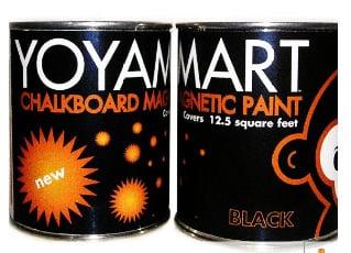 Pimp Your Crib: Chalkboard-Magnetic Paint