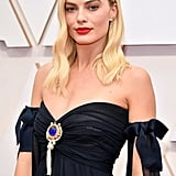 Timothée Chalamet Photobombs Margot Robbie at the Oscars