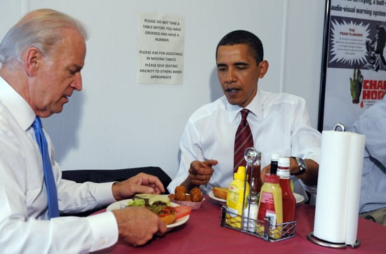 Sugar Shout Out: Obama and Biden Eat Burgers, Just Like Us