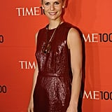 Claire Danes wore a Lanvin number on the red carpet of the Time 100 gala in NYC.