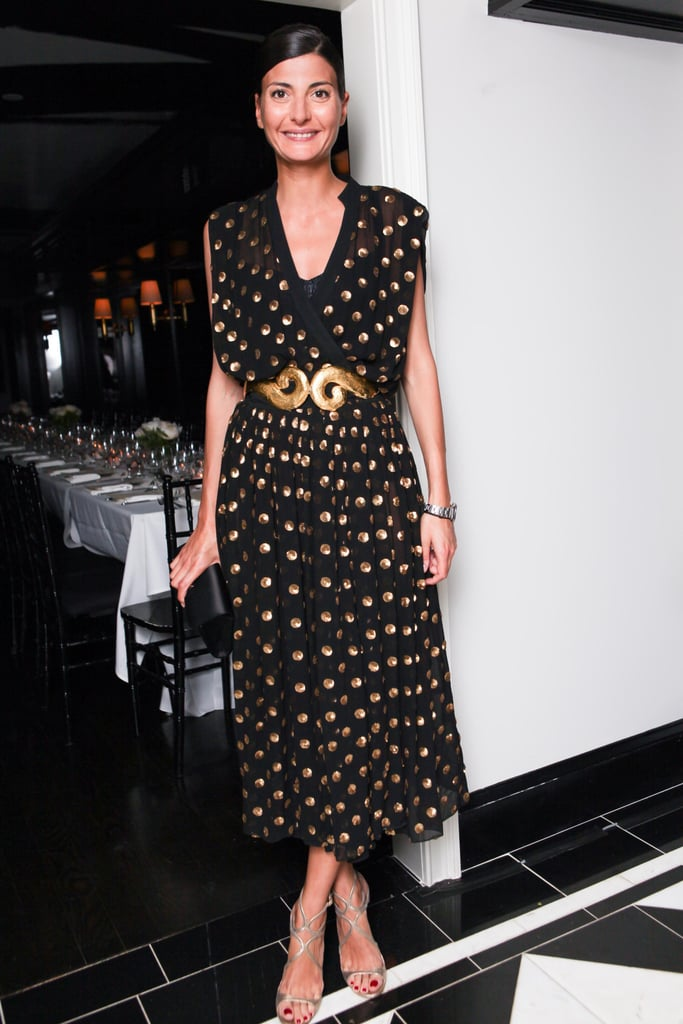 Giovanna Battaglia at the Frame Denim dinner for the Karlie Forever collaboration in New York.  Photo courtesy of Angela Pham/BFAnyc.com