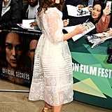 Keira Knightley Official Secrets London Premiere Photos