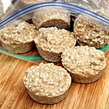 Freeze Oats in Muffin Tins