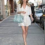 Nicky Hilton forecasted an enviable Spring-ready style while out in LA.