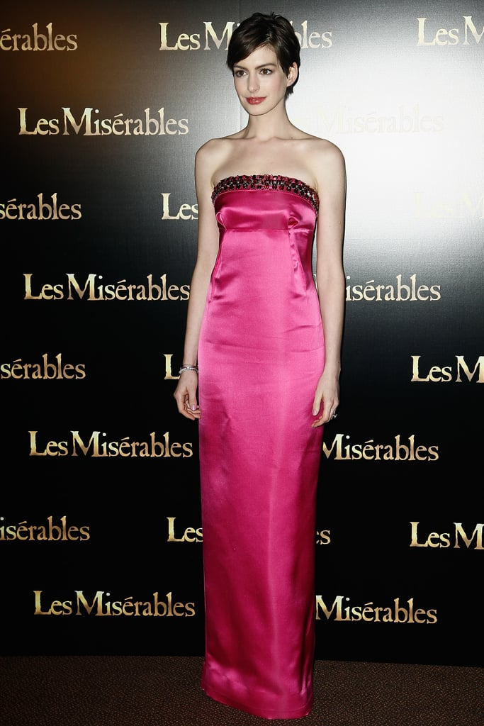 At The Paris Les Miserables Premiere, 2013