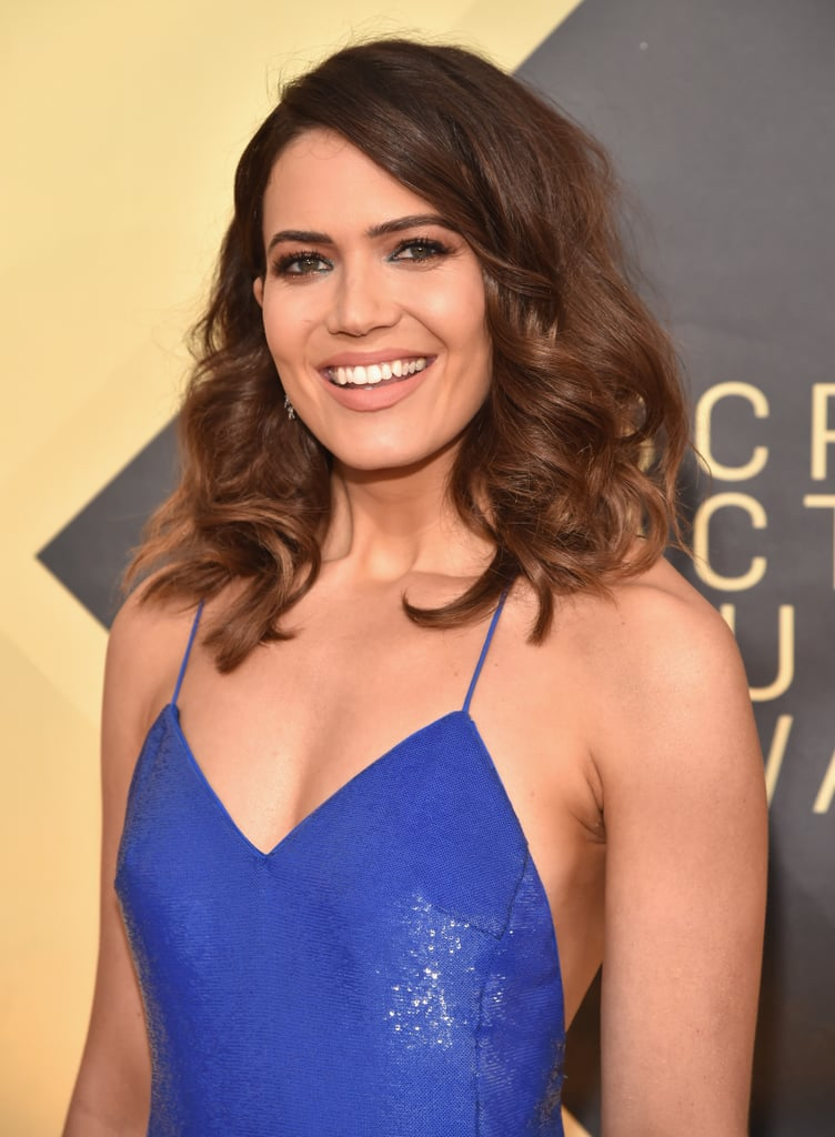 Mandy Moore's Watercolour Eye Shadow Was Absolutely Mesmerising at the SAG Awards