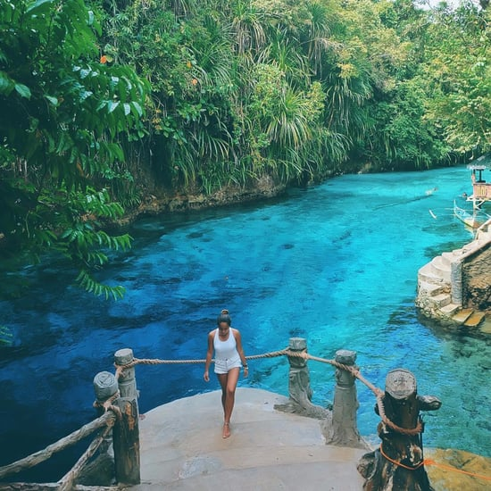 Hinatuan Enchanted River in the Philippines