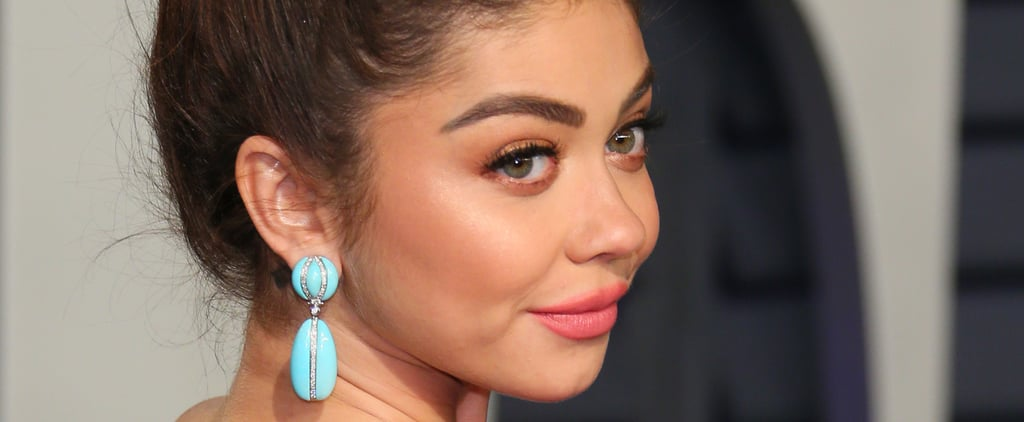 Sarah Hyland Talks Beauty Lessons and New Year's Resolutions