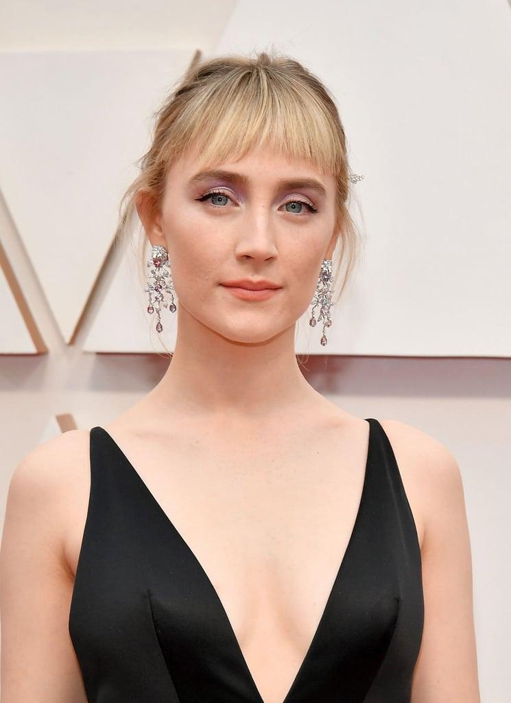 Saoirse Ronan's Baby Bangs at the Oscars 2020