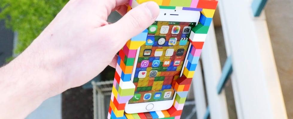 Lego iPhone Case Drop Test
