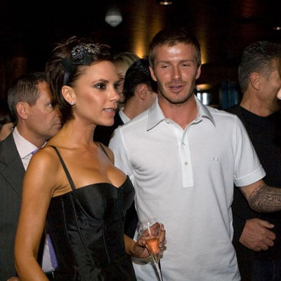 David and Victoria Beckham in Dubai
