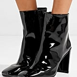 Stuart Weitzman Vigor Patent-Leather Ankle Boots