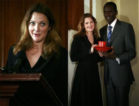 Drew Becomes an Ambassador Against Hunger