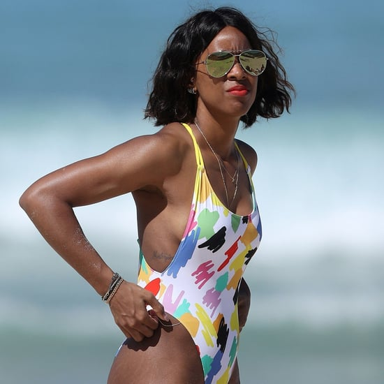 Kelly Rowland on the Beach in Australia March 2017