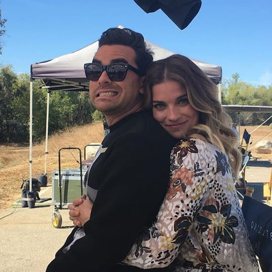 See the Best Schitt's Creek Behind-the-Scenes Cast Pictures