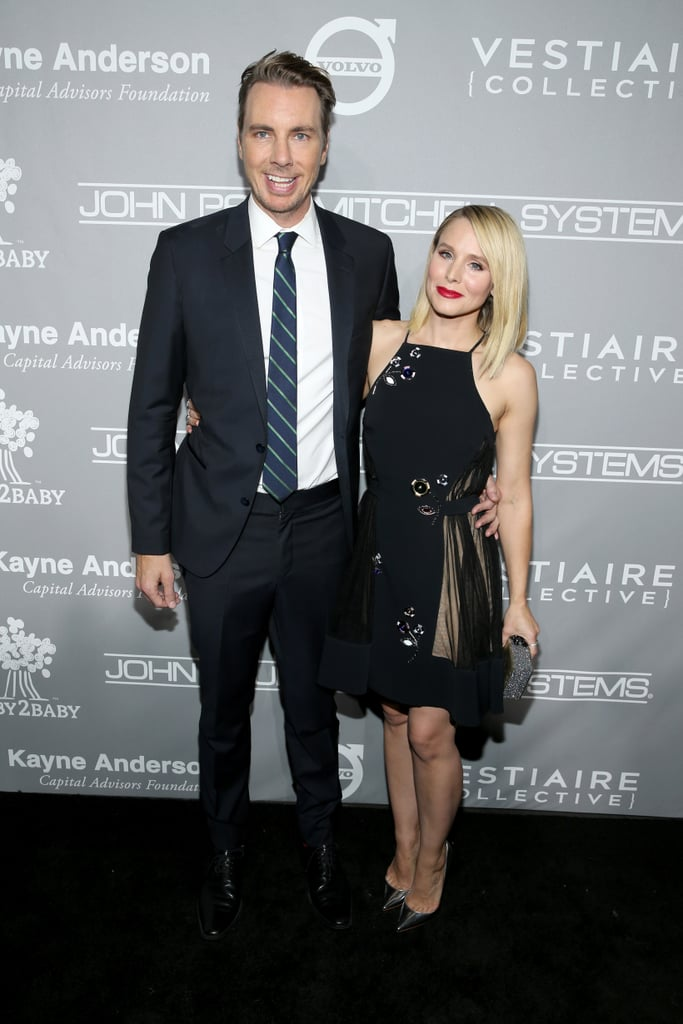 Pictured: Kristen Bell and Dax Shepard