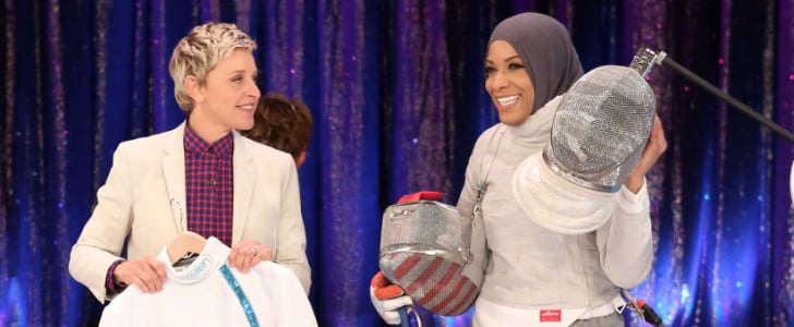 See Ibtihaj Muhammad Fencing on The Ellen Show