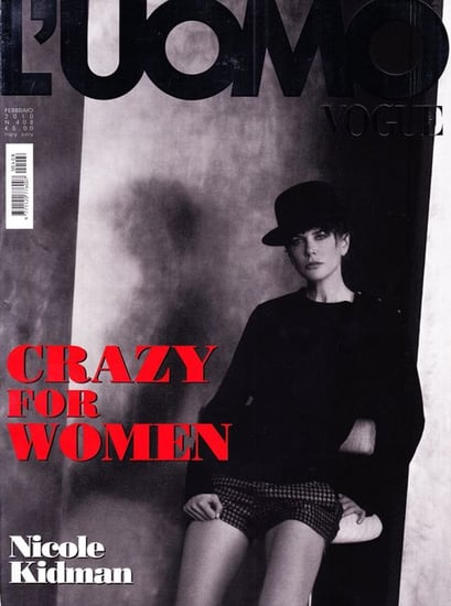 Nicole Kidman does L'Uomo Vogue-february 2010