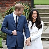 Meghan Showing Off the Ring