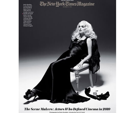 Natalie Portman Goes Old Hollywood Blonde For the New York Times